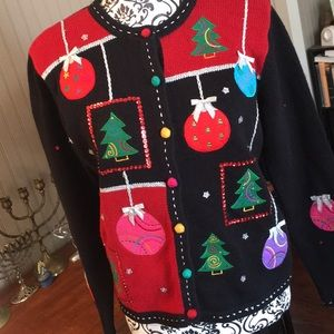 REAL Vintage Ugly Christmas Sweater from the 90s
